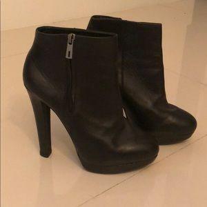 Zara high heel booties